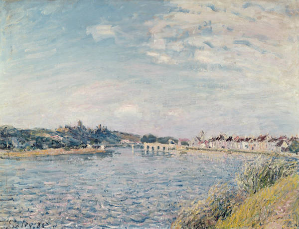 Impressionist Photograph - Landscape, 1888 Oil On Canvas by Alfred Sisley