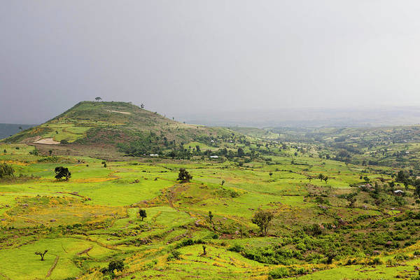Amhara Photograph - Landscape Between Gonder And Lake Tana by Martin Zwick