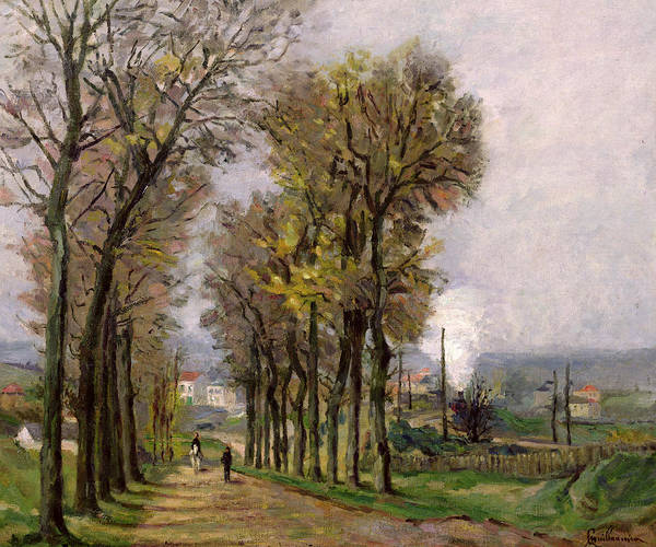 Paysage Wall Art - Painting - Landscape In The Ile De France by Jean Baptiste Armand Guillaumin
