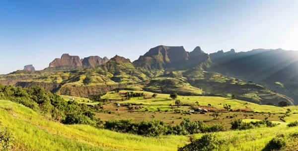 East Africa Wall Art - Photograph - Landscape Near The Escarpment by Martin Zwick