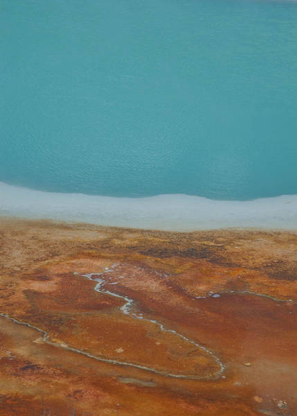 Wall Art - Photograph - Landscape Of A Hot Spring by Sarah Crites