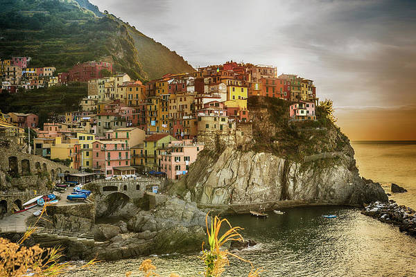 Townscape Photograph - Landscape Of Cinque Terre, Italy by Fancy Yan