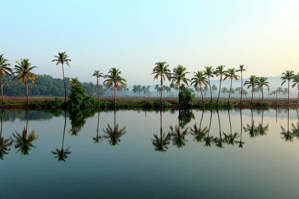 Goa Photograph - Landscape Of Early Morning by Rbb