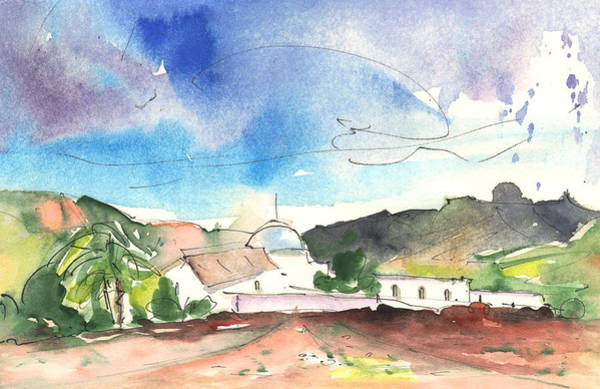 Painting - Landscape Of Lanzarote 02 by Miki De Goodaboom