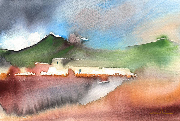 Painting - Landscape Of Lanzarote 04 by Miki De Goodaboom