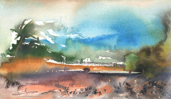 Painting - Landscape Of Lanzarote 05 by Miki De Goodaboom