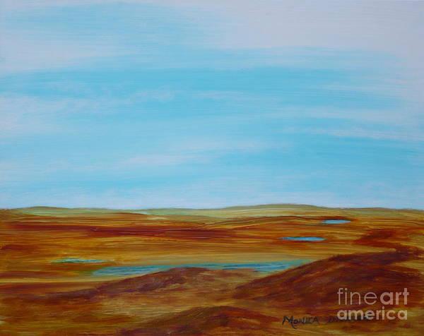 Painting - Landscape Serenity by Monika Shepherdson
