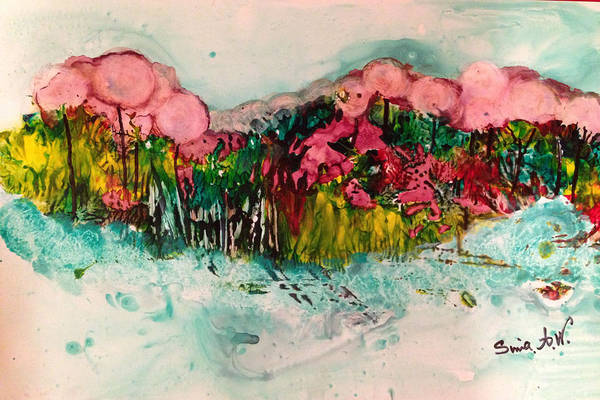 Painting - Landscape Three Hundred by Sima Amid Wewetzer