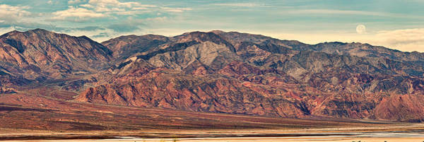 Death Valley Photograph - Landscape With Mountain Range by Panoramic Images