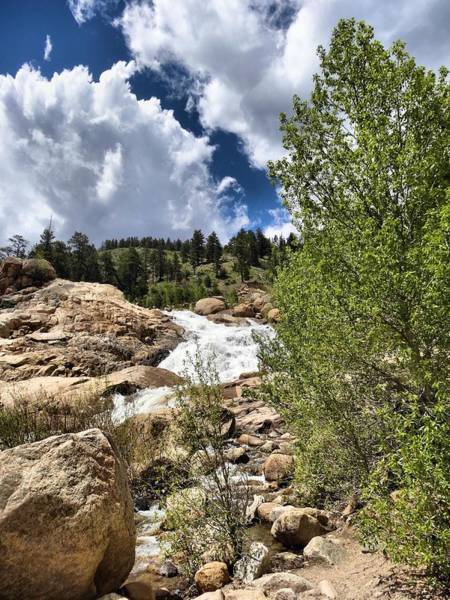 Photograph - Alluvial Fan Colorado by Dan Sproul