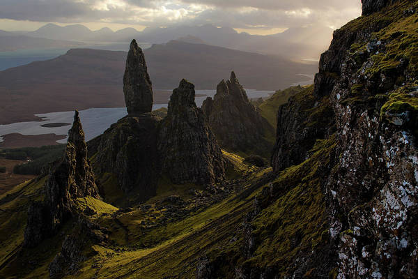 Photograph - Landscapes On The Isle Of Skye by Dan Kitwood