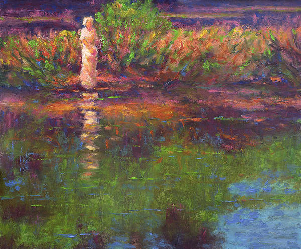 Painting - Langan Lake Reflections by Vernon Reinike
