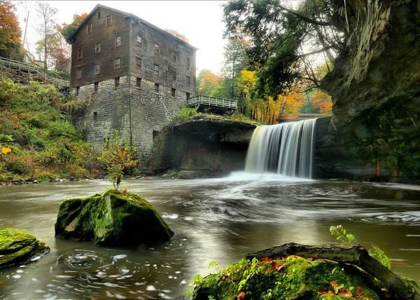 Brian Wilson Wall Art - Photograph - Lanterman' Mill by Brian Wilson