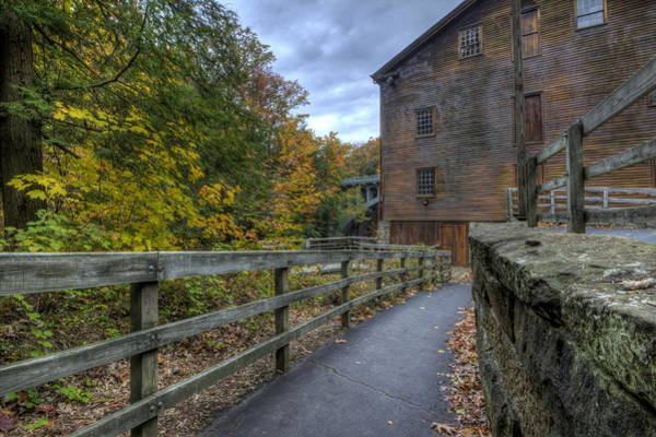 Photograph - Lanterman's Mill In Fall by David Dufresne