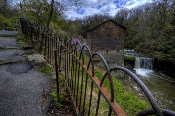 Photograph - Lanterman's Mill In Springtime by David Dufresne