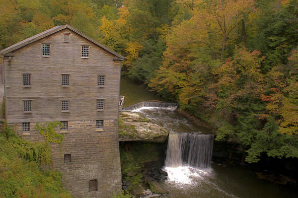 Photograph - Lanterman's Mill by Jack R Perry