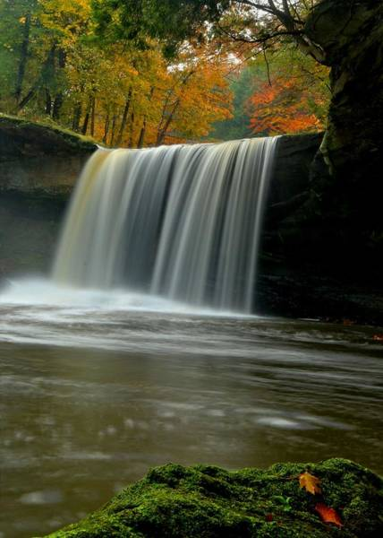 Brian Wilson Wall Art - Photograph - Lanterman's Mill Waterfall by Brian Wilson