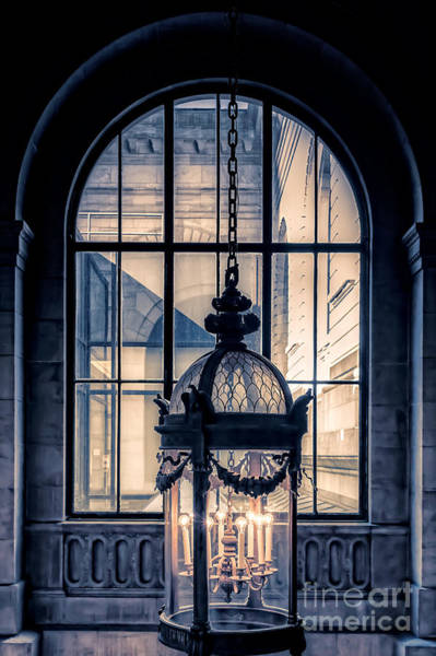 Period Wall Art - Photograph - Lantern And Arched Window by Edward Fielding
