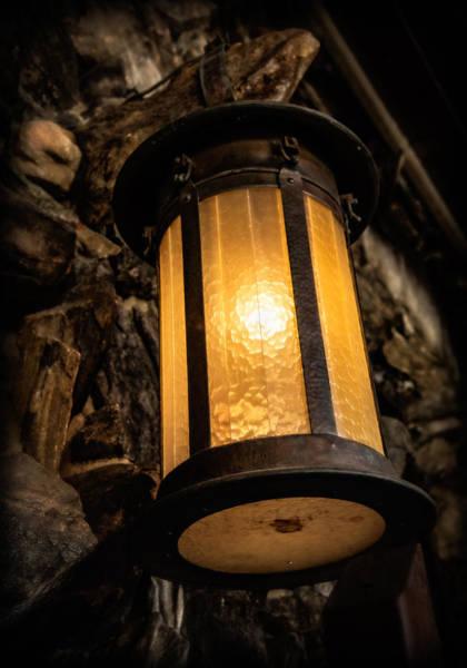 Grove Park Inn Photograph - Lantern Glow by Carl Clay