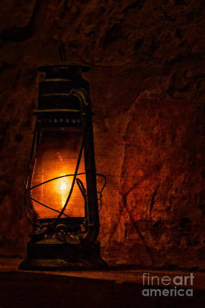 Photograph - Lantern by Larry McMahon