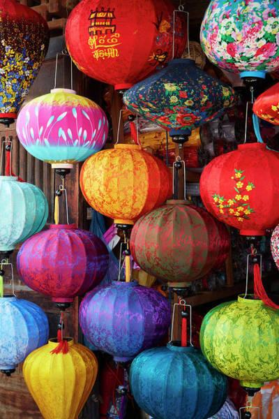 Hoi An Photograph - Lantern Shop, Hoi An, Vietnam by David Wall