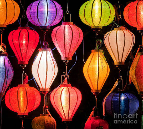 Rick Piper Photograph - Lantern Stall 04 by Rick Piper Photography