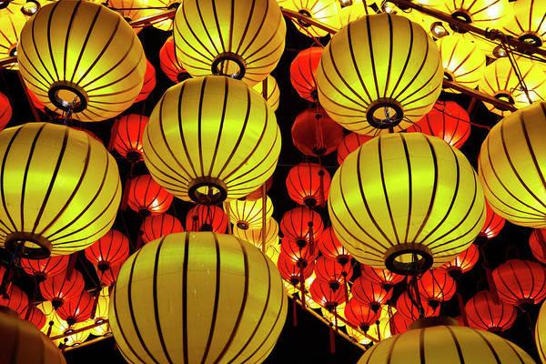 Hoi An Photograph - Lanterns, Hoi An, Vietnam by David Wall