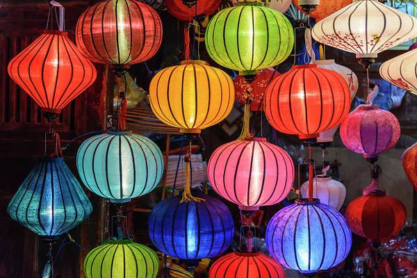 Hoi An Photograph - Lanterns, Hoi An, Vietnam by John Harper