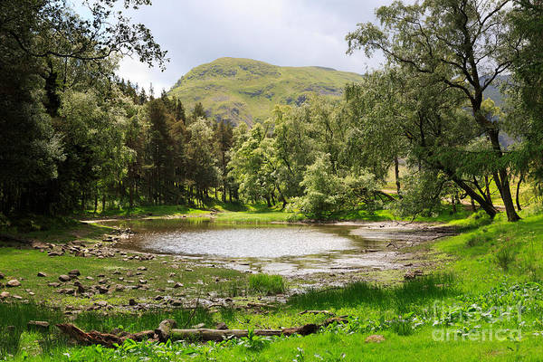 Glenridding Wall Art - Photograph - Lanty's Tarn In The Lake District Cumbria by Louise Heusinkveld