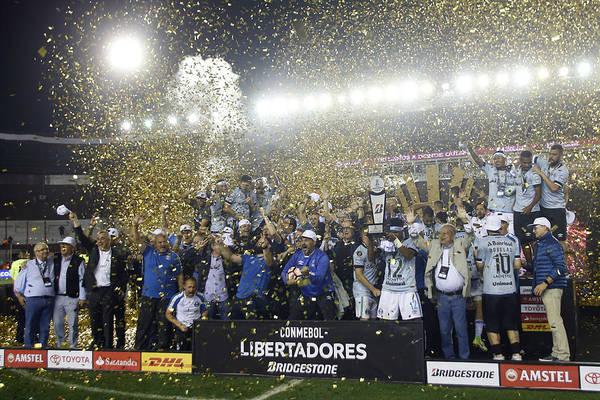 Lanus V Gremio - Copa Conmebol Libertadores 2017 Art Print by Demian Alday