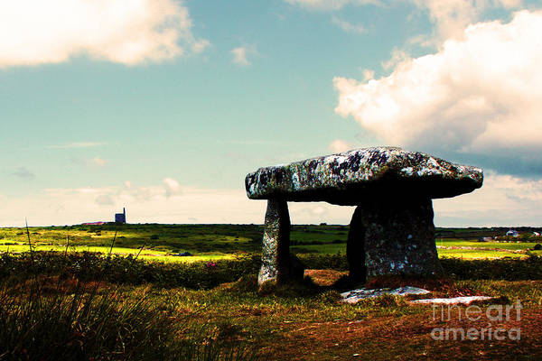Ding Photograph - Lanyon Quoit And Ding Dong Mine by Terri Waters