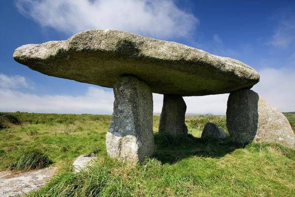 Penwith Photograph - Lanyon Quoit Dolmen by Steve Allen/science Photo Library