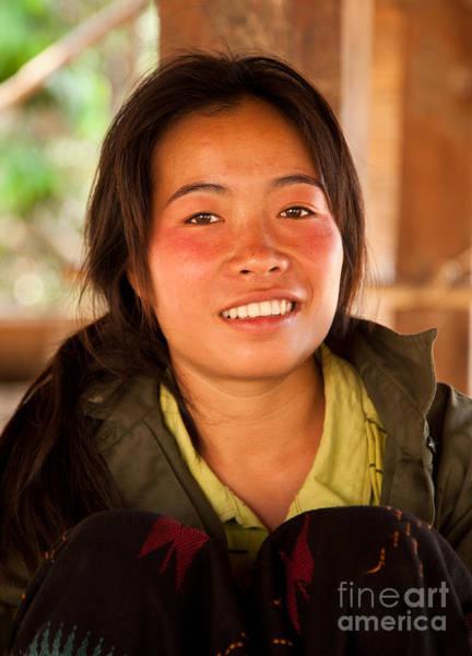 Photograph - Laos Tribal Teenage Girl - Photograph By Jo Ann Tomaselli by Jo Ann Tomaselli