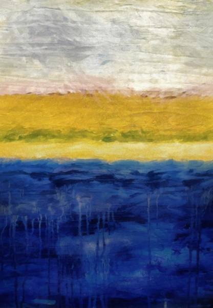 Painting - Lapis And Gold Get Married by Michelle Calkins