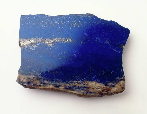 Geological Photograph - Lapis Lazuli by Dorling Kindersley/uig