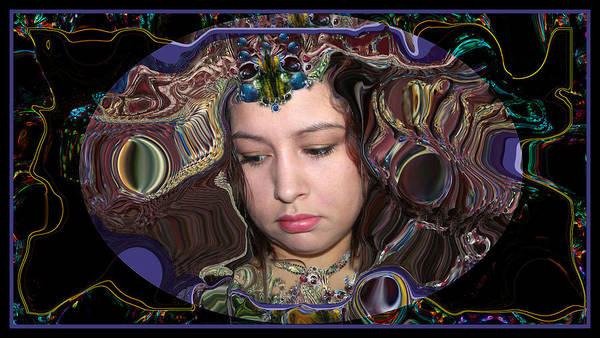 Lapislazuli Beauty Art Print
