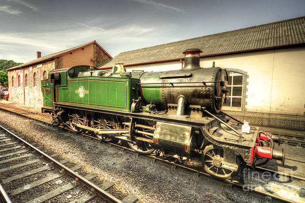 Prarie Photograph - Large Prarie At Minehead  by Rob Hawkins