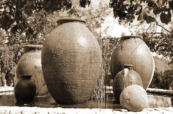 Digital Art - Large Urns by Kirt Tisdale