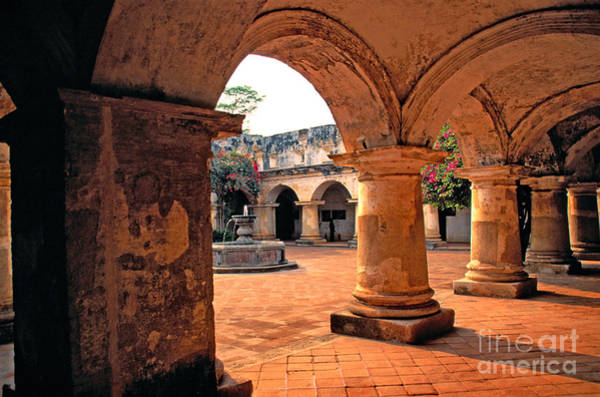Photograph - Las Capuchinas Arches by Thomas R Fletcher