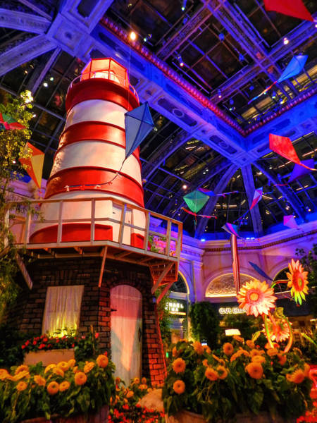 Photograph - Las Vegas - Bellagio Conservatory And Botanical Gardens 003 by Lance Vaughn