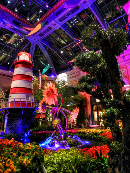 Photograph - Las Vegas - Bellagio Conservatory And Botanical Gardens by Lance Vaughn