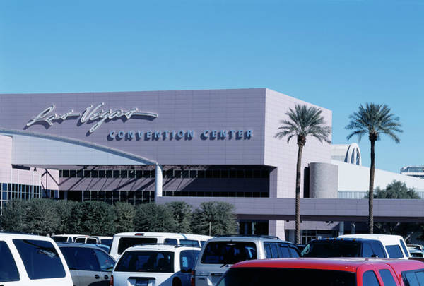 Convention Wall Art - Photograph - Las Vegas Convention Center by Alex Bartel/science Photo Library