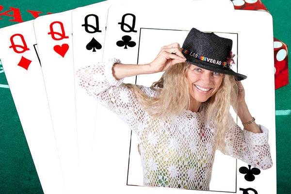 Photograph - Las Vegas Deck Of Cards by Gunter Nezhoda