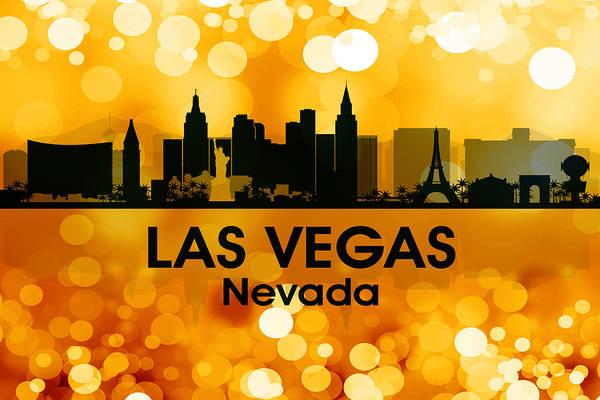 Mixed Media - Las Vegas Nv 3 by Angelina Tamez
