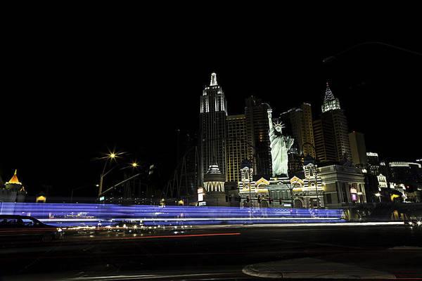 Photograph - Las Vegas Traffic 2 by James Sage