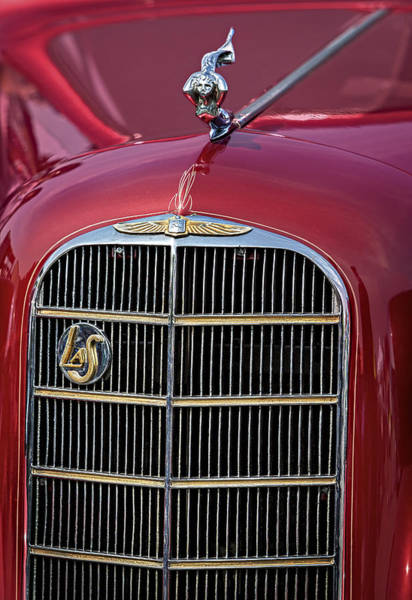 Photograph - Gm Lasalle 1936 Classic Coupe by Susan Candelario