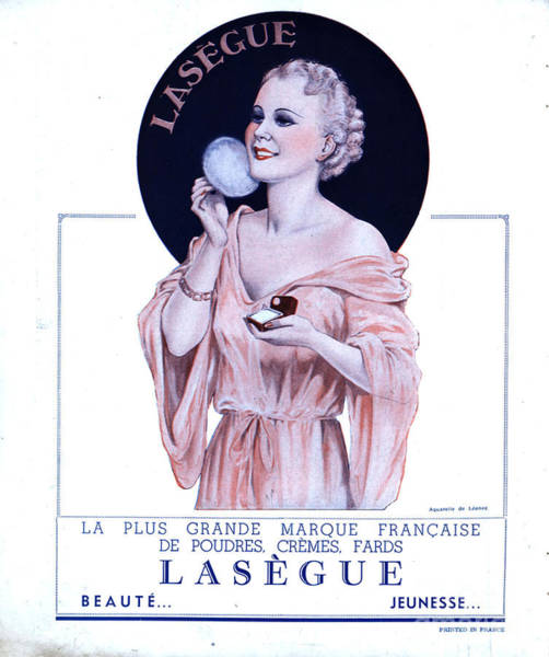 Nineteen-thirties Wall Art - Drawing - Laseguela Vie Parisienne 1930s France by The Advertising Archives