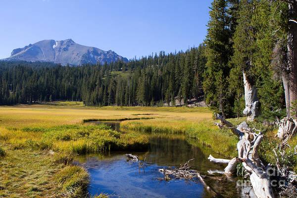Photograph - Lassen Mountain Stream by Steven Frame