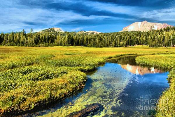 Photograph - Lassen Reflections by Adam Jewell