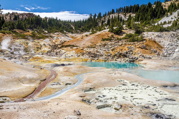Photograph - Lassen Volcanic Landscape by Pierre Leclerc Photography